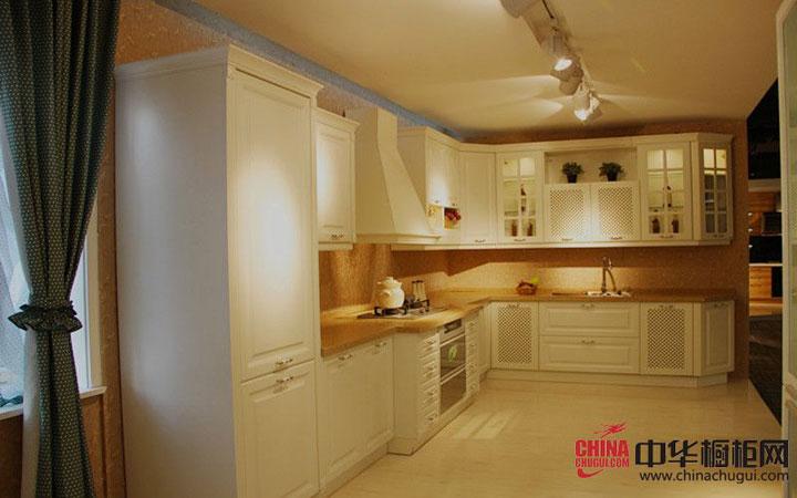 大诚整体厨柜效果图 欧式风格整体橱柜图片