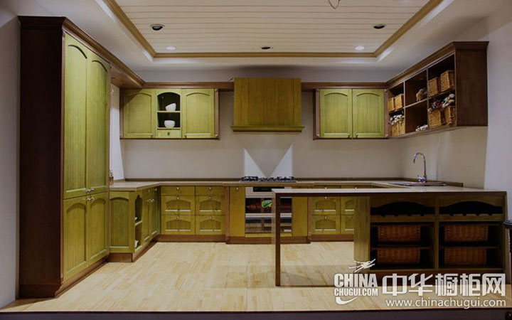 大诚整体厨柜图片 欧式风格整体橱柜效果图