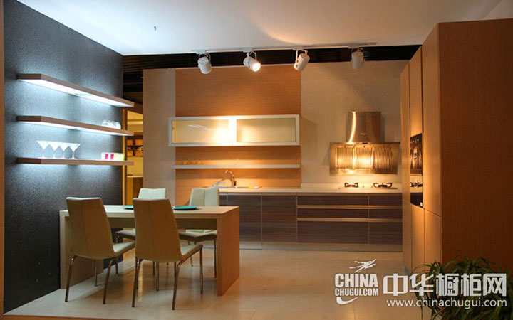 大诚整体厨柜 现代简约风格整体橱柜图片