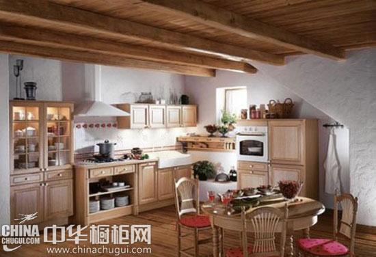 9个法式乡村厨房 橱柜伴你听闻鸟语花香图片