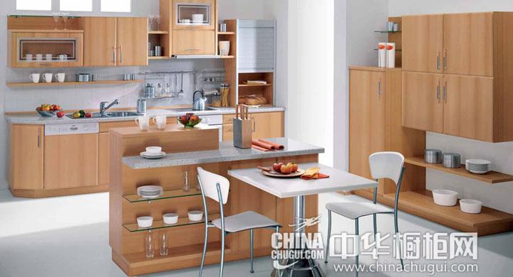 田园风格橱柜效果图 厨房充满田园味