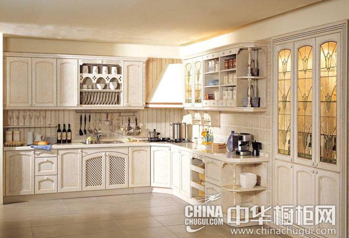 欧式风格整体橱柜图片 明媚的烹饪时光