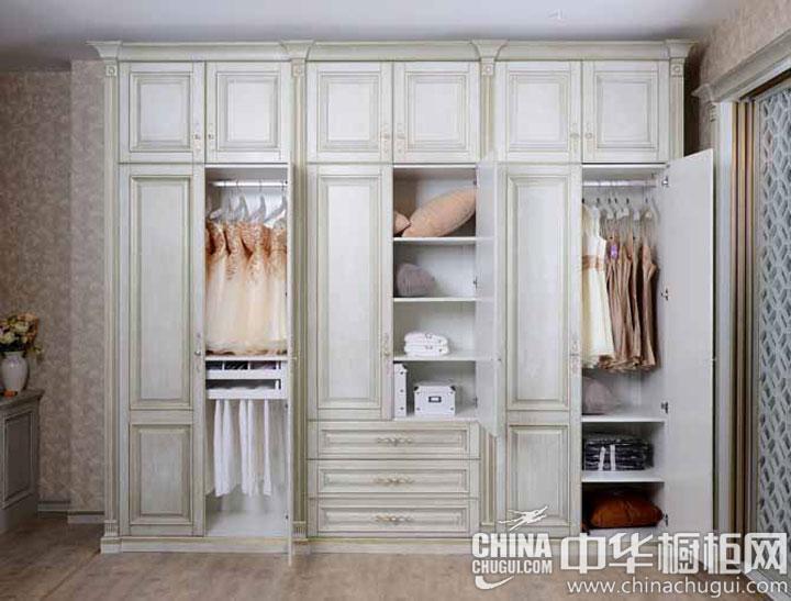 欧式风格整体衣柜图片 美观实用两者兼备