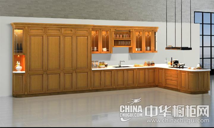 环保的选材 新古典风格橱柜效果图