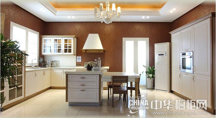 艾度巨迪厨柜图片 新古典风格橱柜效果图