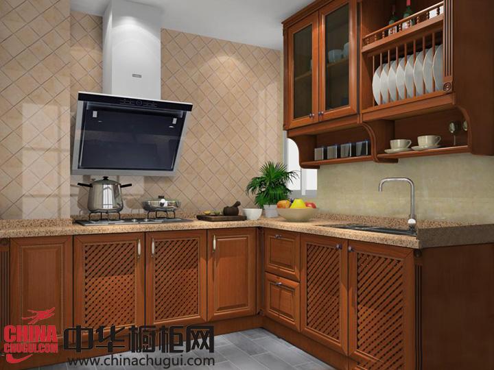 空间更加丰富 新古典风格橱柜效果图
