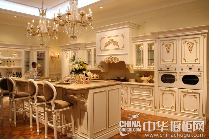 欧式风格橱柜图片  志邦厨柜效果图