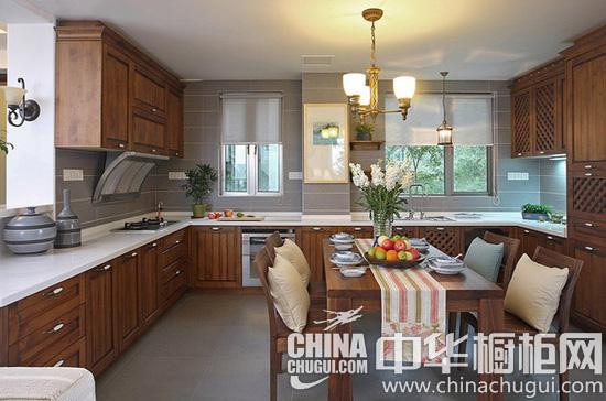 新中式橱柜变形计图片