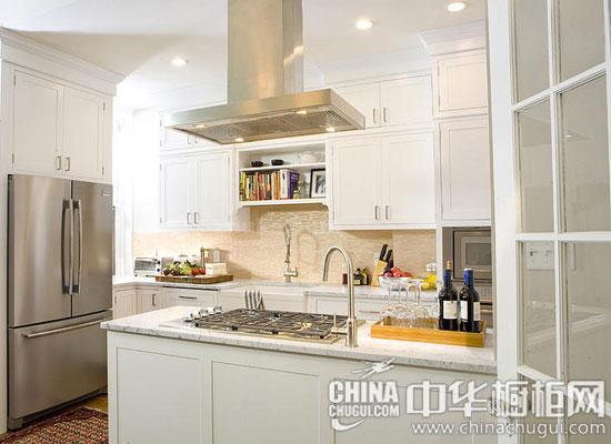 开放式厨房小帮手 橱柜岛台设计全攻略