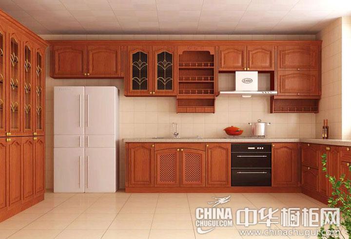 高贵内敛的设计 新古典风格橱柜图片