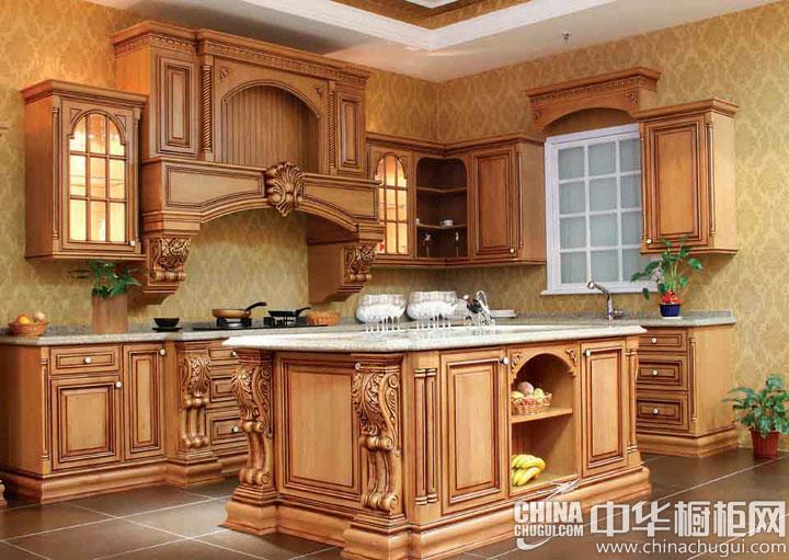 非一般的华贵气派  欧式古典风格橱柜图片