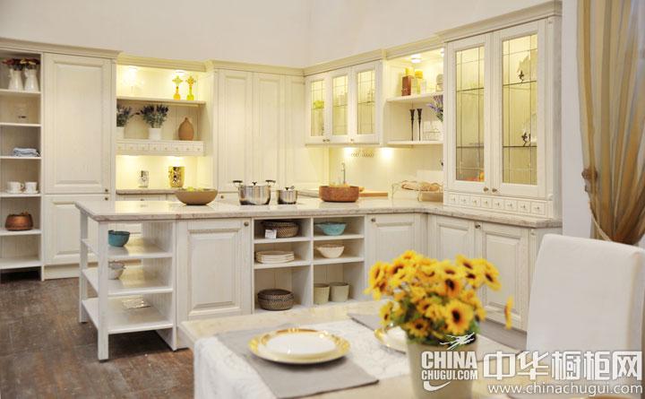 美高印象厨柜江诗丹顿-爱情海系列 厨房装修效果图