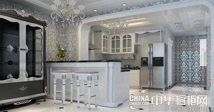 豪宅的霸气和华丽 欧式风格橱柜效果图