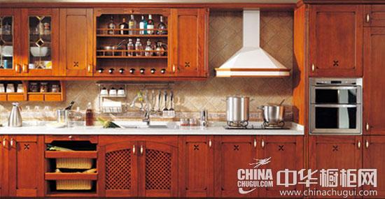 恒久的倾慕 四款复古风格厨房设计欣赏-中华橱柜网
