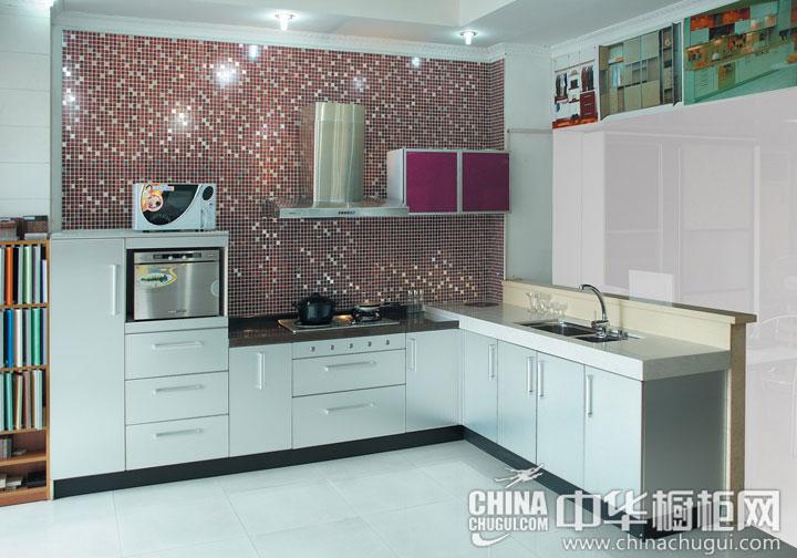 简约风格整体橱柜效果图 烹饪学习的小天地
