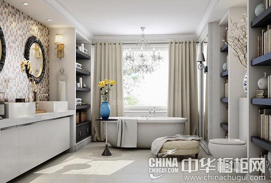 新古典风格浴室装修效果图