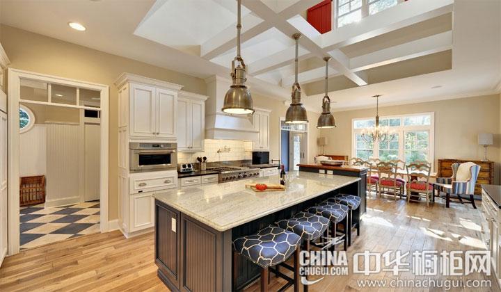 欧式风格整体橱柜图片 厨房细致优雅