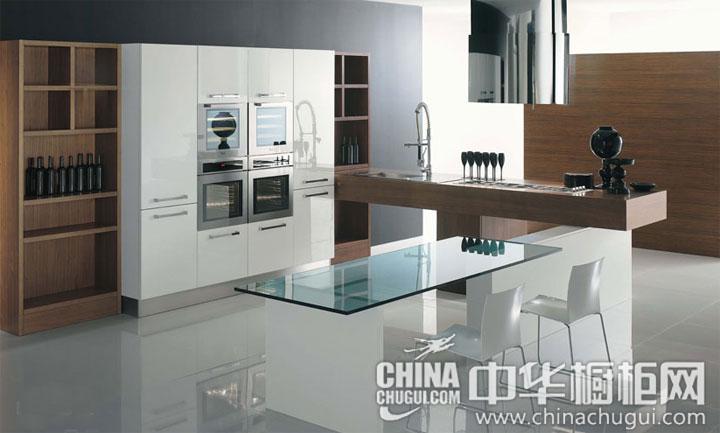 舒适持久的温暖 开放式厨房装修效果图