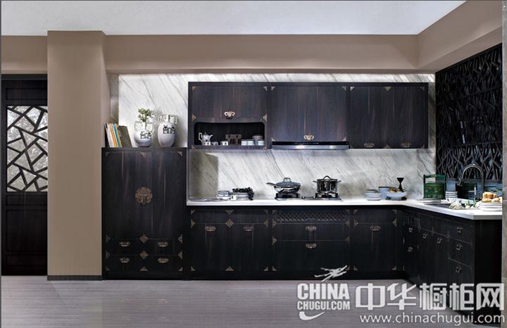 中式风格橱柜图片 独有的风雅意境