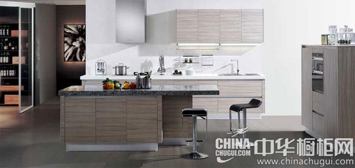 单纯清新 开放式厨房装修效果图