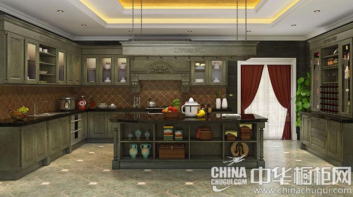 传统王族的尊贵 古典风格橱柜图片