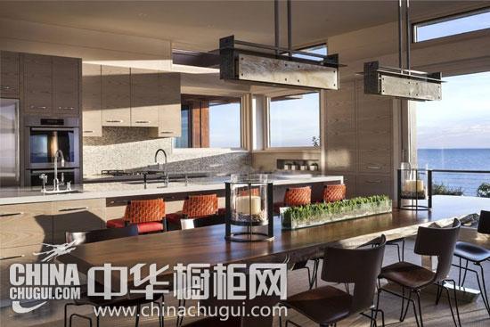 五款中岛台橱柜魅力无限 乐享开放式厨房