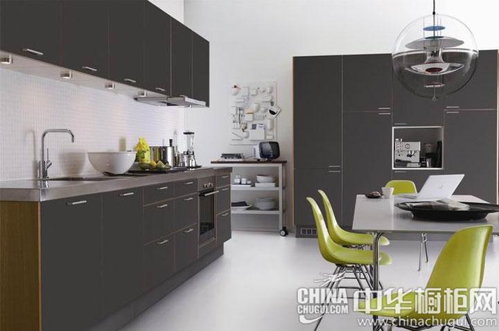 惹人关注的视觉焦点 开放式厨房装修效果图