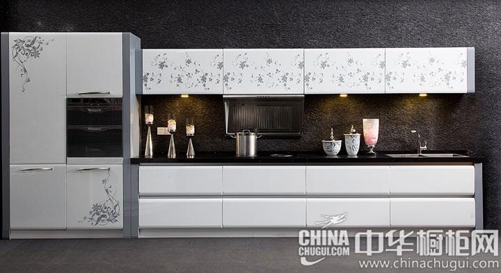 韩丽橱柜——埃菲尔 现代风格橱柜图片