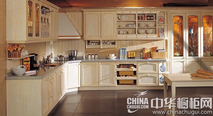 韩丽橱柜——香榭里系列 欧式风格橱柜图片