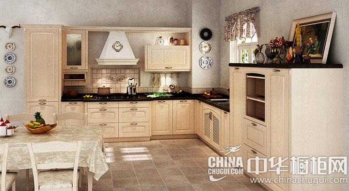韩丽橱柜——爱丁堡系列 厨房装修效果图