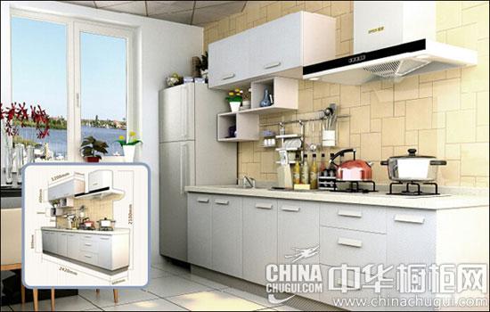 ) 志邦橱柜zbom_sjcf,它是双饰面搭配石英石,而且内置吧台设计,充分拓展了厨房空间。它采用吊柜+侧封板的形式,把冰箱很好的融入到厨房里。烟机柜还采用吊柜包覆烟机的形式,统一整体色调。 推荐产品二:欧派橱柜甜蜜之初  6000-9000元品牌橱柜推荐 让家庭氛围更浓郁 欧派橱柜甜蜜之初,它整体大方优雅,地柜、吊柜以及抽屉拉篮等区域合理切分和重新布局,是各种物品井然有序,空间利用率高达95%。洗涤用品拉篮、垃圾桶以及米箱等组合运用,使得洗涤过程更加紧凑、快捷。