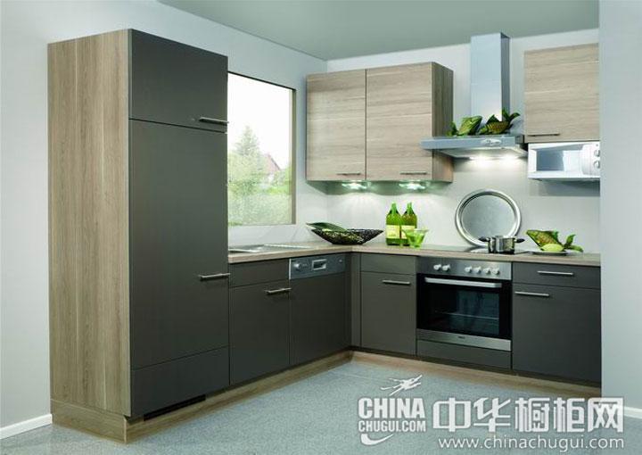 厨房装修效果图 灰色彰显品质感