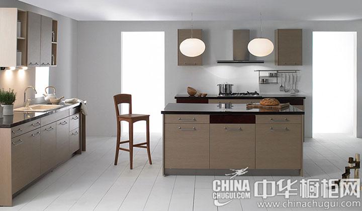 简约风格整体橱柜效果图 为厨房带来自然的活力