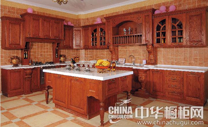 古典风格橱柜效果图 凸显淡雅质感