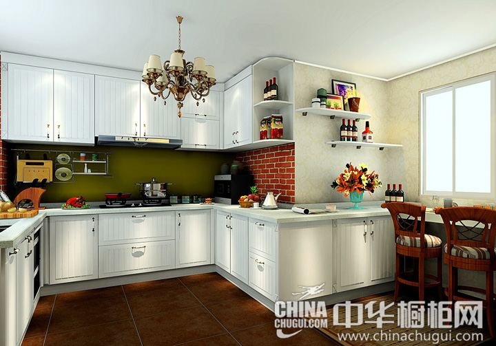 小型吧台的设计 厨房装修效果图:根据该厨房装修效果图,U型的橱柜设计满足厨房的操作流程,收纳功能足够且整齐大方,增?#26377;?#22411;吧台的设计,可以尽情享受吧台带来的乐趣。整体橱柜沿户型延伸,窗边的二人... --> 小型吧台的设计 厨房装修效果图:根据该厨房装修效果图,U型的橱柜设计满足厨房的操作流程,收纳功能足够且整齐大方,增?#26377;?#22411;吧台的设计,可以尽情享受吧台带来的乐趣。