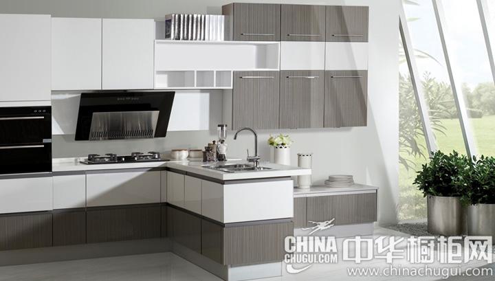新概念的浪漫厨房 简约风格整体橱柜图片