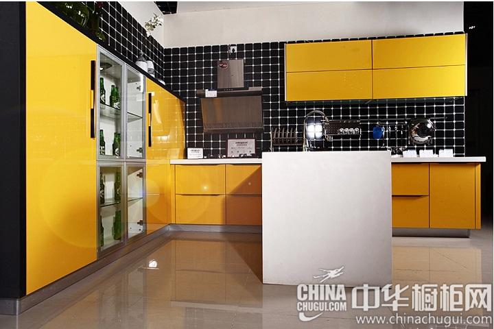 凸显出现代时尚理念  厨房装修效果图