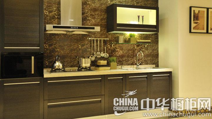 中式风格橱柜图片 轮廊简洁刚健