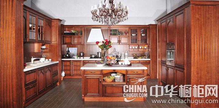 高贵富丽的气质  古典风格橱柜图片