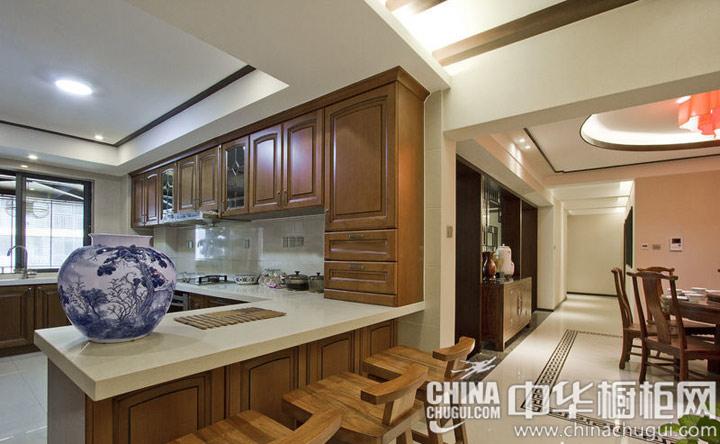 开放式厨房装修效果图 演绎浪漫悠闲风情