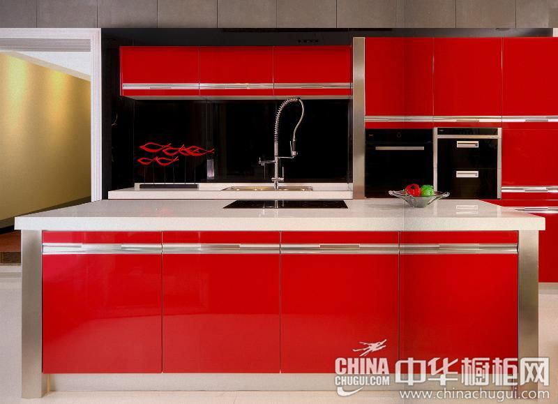 厨房装修效果图 给人热烈的期待