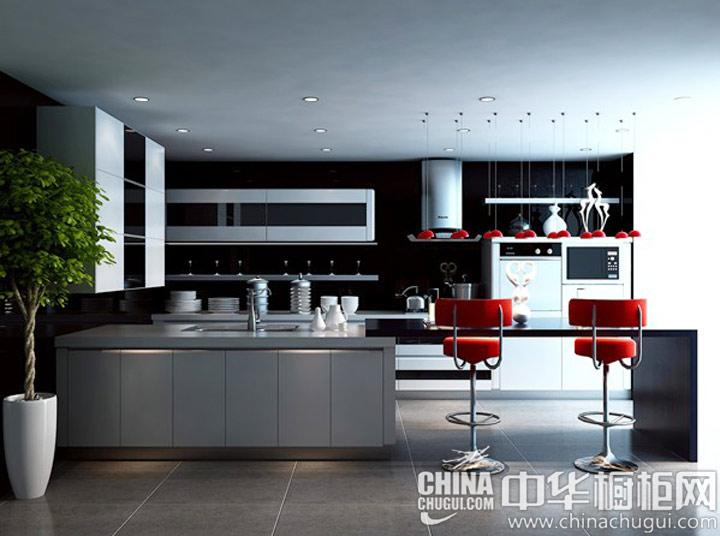 充满灵气的厨房 现代风格橱柜图片