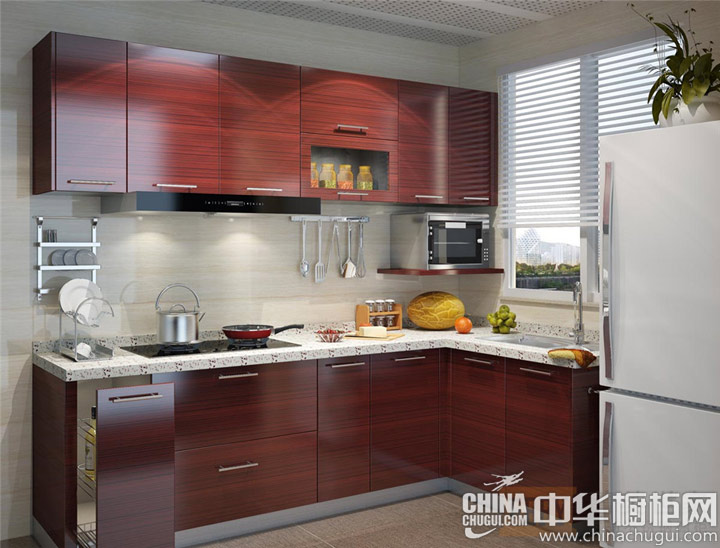 厨房装修效果图 年轻而充满活力