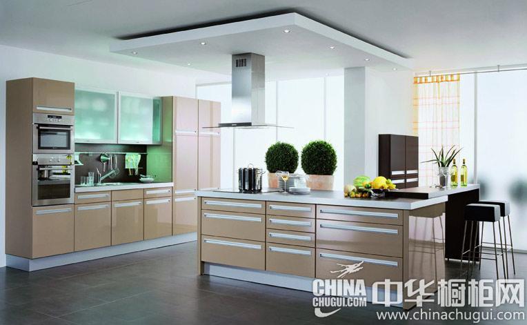 开放式厨房装修效果图  从容的新生活状态