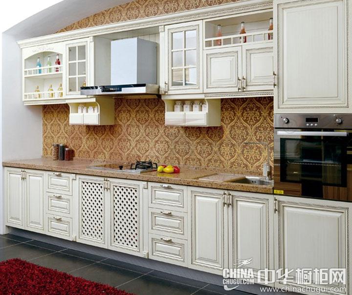 整体造型优美 欧式风格橱柜效果图