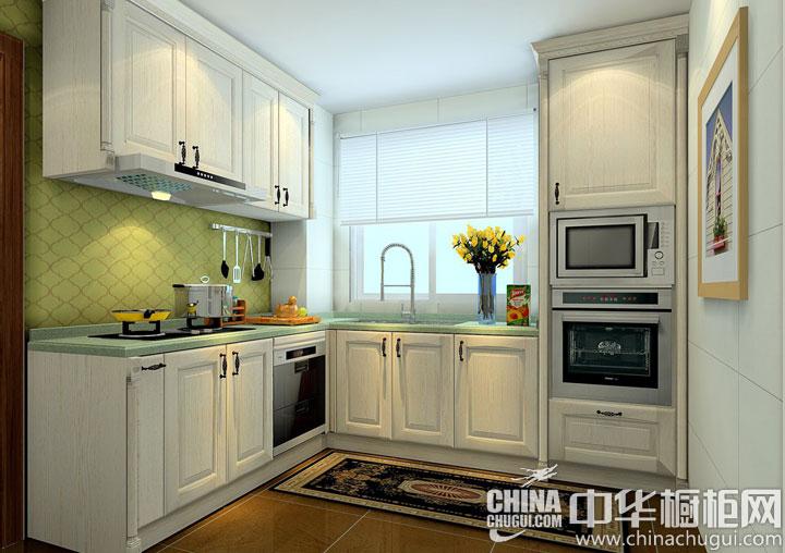 绿色让空间富有生机 厨房装修效果图