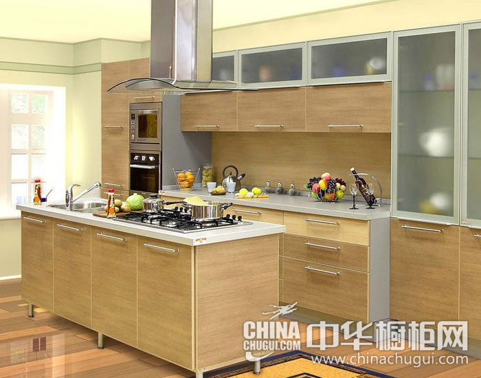 """现代简约橱柜效果图    打造厨房新""""柜""""族"""