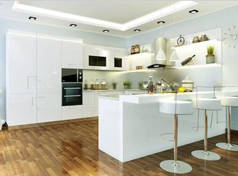 厨房就要这样装修 布局合理美观实用