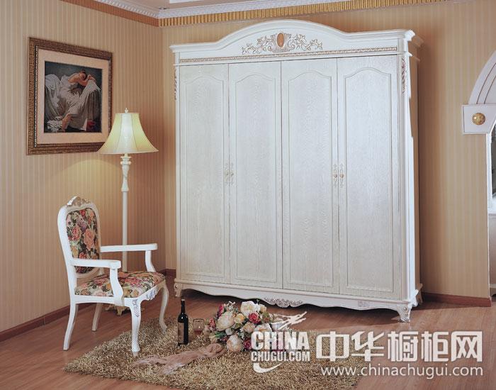 法式衣柜图片 溢满法式浪漫气息