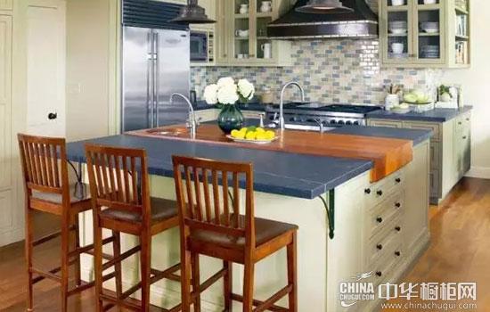 理想型岛台厨房 4种布局方式让你灵活切换身份